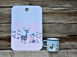 Moomin Magic Winter -serving board