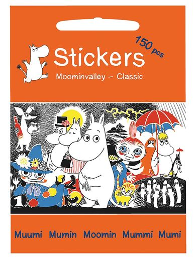 Moomin stickers Moominvalley