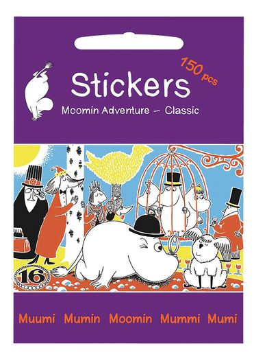 Moomin stickers Adventures