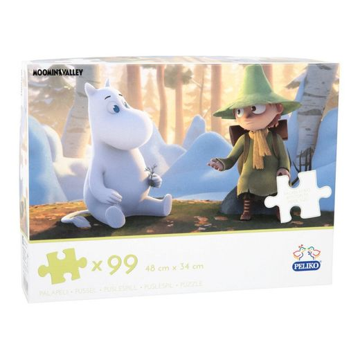 Puzzle Moomintroll and Snufkin 99pcs