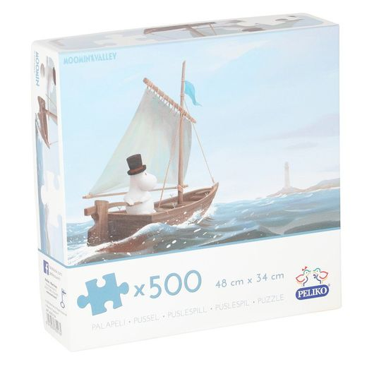 Puzzle Moominpappa at sea 500 pcs