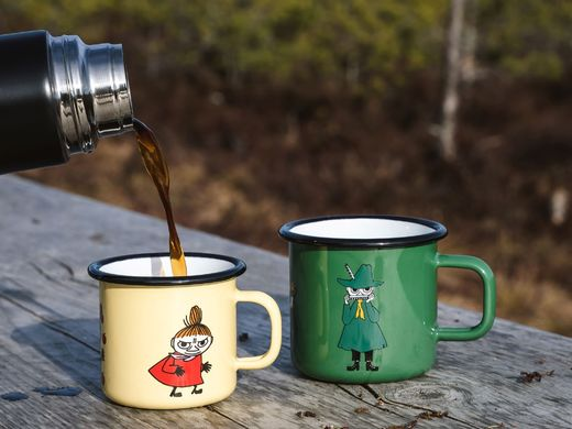 Little My enamel mug