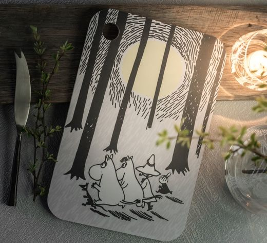 """In the Woods"" -serving board"