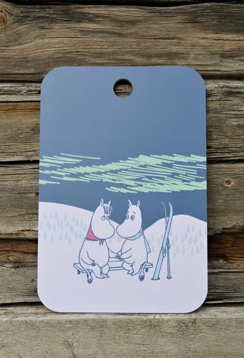 Moomin Winter Night -serving board