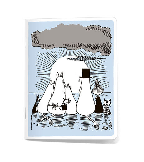 Moominfamily -notebook small