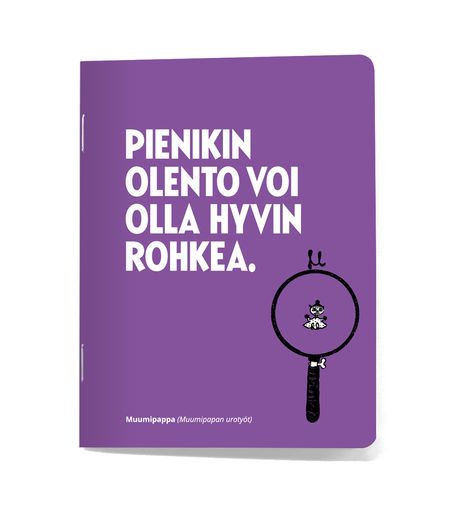 "Putinki small notebook ""Small creature"""
