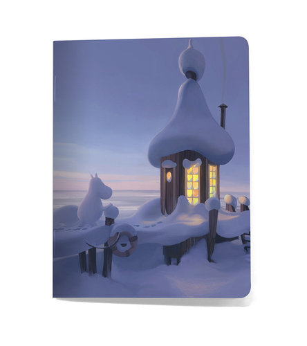 "Putinki small notebook "" Winter Scenery"""